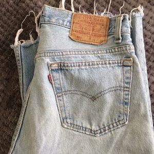 Vintage Levi Cutoffs size 32/8